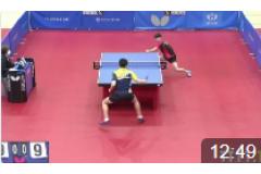 2021韩国东京直通乒乓球比赛视频:郑荣植VS安宰贤