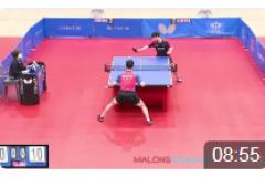 2021韩国东京直通乒乓球比赛视频:李尚洙VS安宰贤