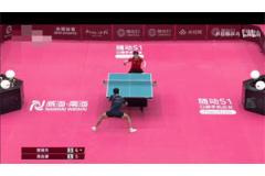 2021奥运乒乓球热身赛决赛视频手机看:樊振东vs周启豪