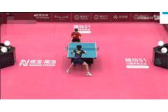 2021奥运乒乓球热身赛比赛手机视频:王楚钦vs袁励岑