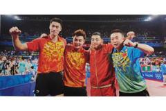中国乒乓球队88-21年8接奥运会全程记录