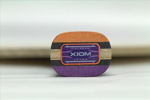 XIOM骄猛 冰激凌 AZX Ice Cream AZX 两面异质乒乓底板 天使与魔鬼的化身