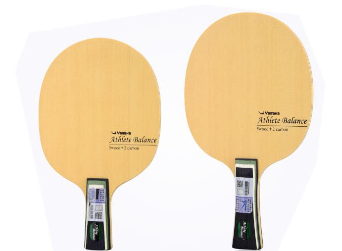 亚萨卡竞技者内外置纤维系列乒乓球底板性能解读:
