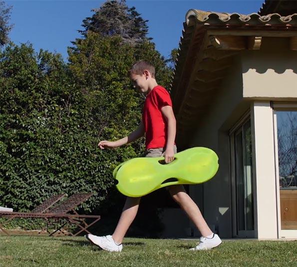 迪卡儂便捷式羽毛球網架,45秒建球場
